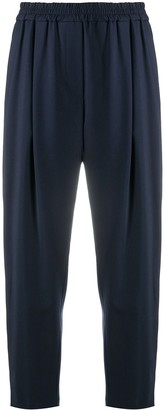 Aspesi Cropped Pleated Trousers