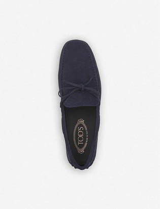 Tod's City driver suede driving shoes