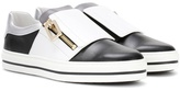Roger Vivier Sneaky Viv' leather slip-on sneakers