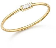 Zoë Chicco 14K Yellow Gold Diamond Baguette Ring
