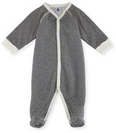 Petit Bateau Striped Footie Pajamas, Size Newborn-6M