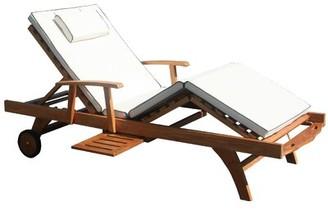 Loon Peak Indoor/Outdoor Chaise Lounge Cushion