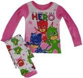 PjMasks PJ Masks Girls Pajama Pant Shirt Set Pjmask