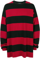 Yuiki Shimoji oversized bold sweatshirt