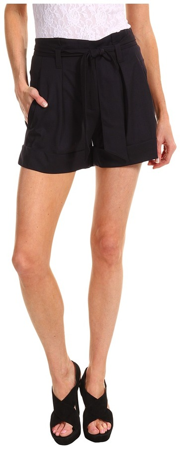 Theory Ettie T Caledon Short (Navy) - Apparel