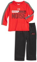Under Armour Make Some Noise T-Shirt & Pants Set (Baby Boys)