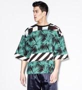MSGM Green Maglia S/S Sweater