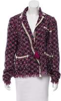 Lanvin Tweed Metallic Jacket w/ Tags