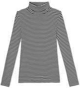Petit Bateau Womens striped undersweater in ultra light cotton