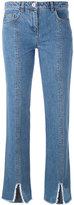 Courreges cut down jeans - women - Cotton - 36