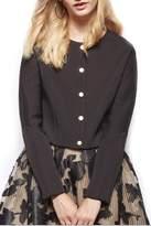Gracia Black Cropped Jacket