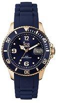 Ice Watch Ice-Style Ice-Watch, Dark Night Silicon Strap, Unisex Size, IS.DAR.U.S.13