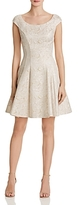 Betsey Johnson Metallic Brocade Dress