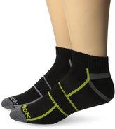 Reebok Men's 6 Pack Performance Quarter Technical Design Sock