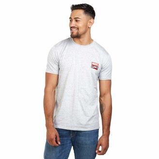 Marvel Men's Stack Logo T-Shirt XXL
