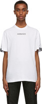 Thumbnail for your product : Versace White Embroidered Logo T-Shirt