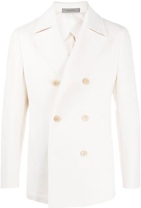 Corneliani Double-Breasted Cashmere Coat