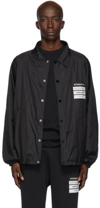 Maison Margiela Black Stereotype Coach Jacket