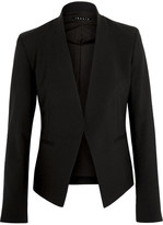 Theory Lanai Stretch-wool Crepe Blazer - Black