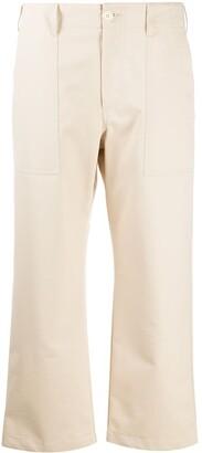 Jejia High Waist Cropped Trousers