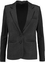Tart Collections Paneled Jacquard And Stretch-Jersey Blazer
