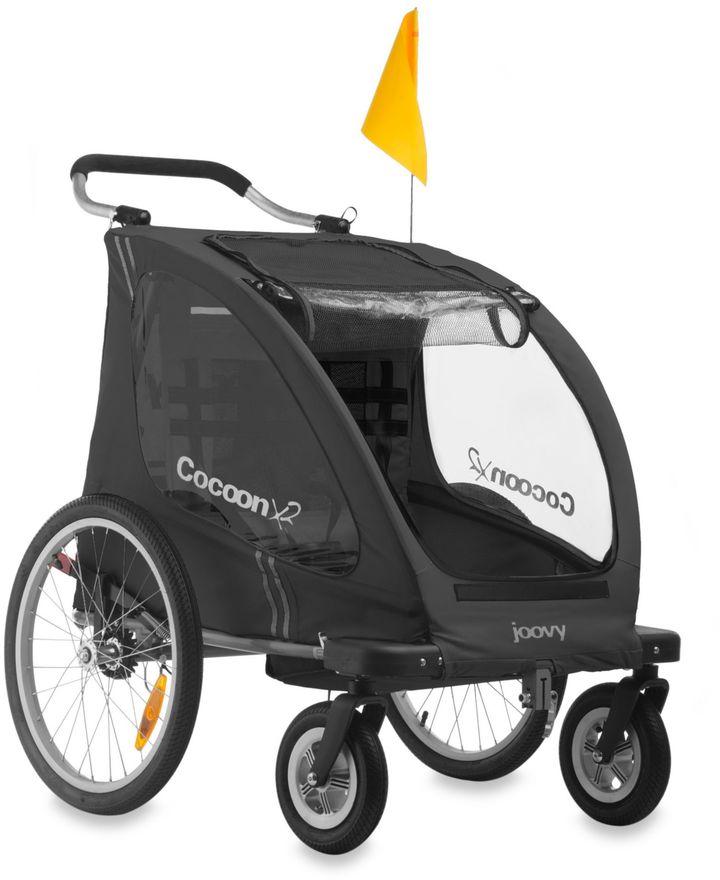 Joovy Cocoon X2 Double Stroller in Black