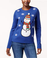 Karen Scott Snowman Holiday Sweater, Created for Macy's