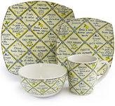 JCPenney Jay Imports Piastrelle Italian Style 16-pc. Dinnerware Set