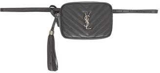 Saint Laurent Grey Lou Belt Bag