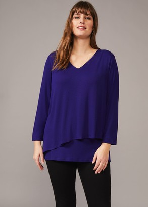 Phase Eight Talia Double Layer Top