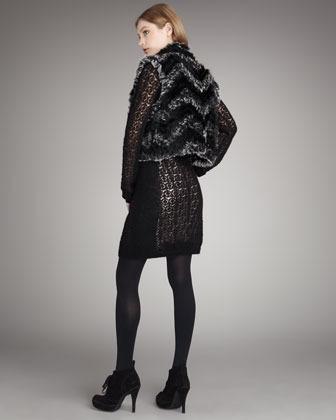 Marc by Marc Jacobs Hayworth Fur Vest