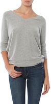 Chaser Love Knit Double V Neck Pullover