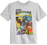 Lego Batman Serious Batitude T-Shirt, Toddler & Little Boys (2T-7)