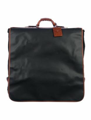 Bottega Veneta Vintage Marco Polo Garment Bag Black