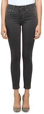 L'Agence Margot High Rise Skinny Jeans in Magnet