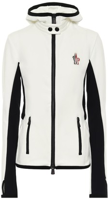 MONCLER GRENOBLE Zipped fleece jacket