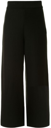 AKIRA NAKA Rear Stripe Flared Trousers