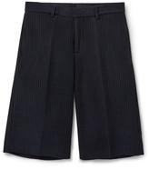 Givenchy Striped Tech-Jersey Bermuda Shorts