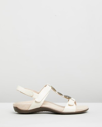 Vionic Women's Neutrals Flat Sandals - Farra Backstrap Sandals - Size One Size, 5 at The Iconic
