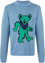 J.W.Anderson grateful bear sweater