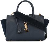 Saint Laurent baby Monogram Downtown Cabas bag - women - Calf Leather - One Size