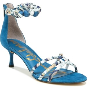 Sam Edelman Jayde Kitten Heel Strappy Sandals Women's Shoes