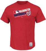 Majestic Men's Washington Nationals Authentic Collection Choice T-Shirt