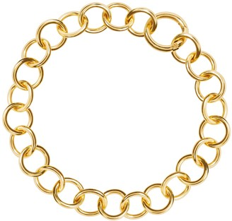 Amadeus Nudo Thick Gold Chain Choker Necklace
