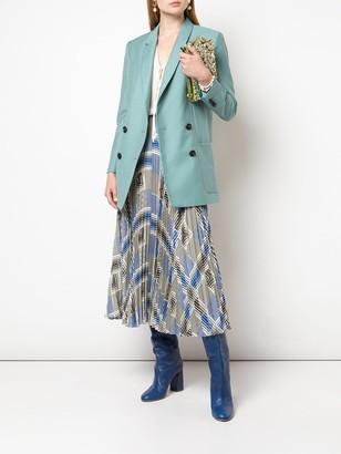 Stella McCartney Silk Crepe Sleeveless Blouse