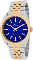 Oceanaut Chique Womens Blue Dial Gold-Tone Stainless Steel Bracelet Watch