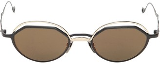Kuboraum Berlin H70 Small Round Metal Sunglasses