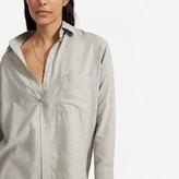 Everlane The Lightweight Flannel Oversized Shirt