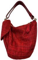 Atelier Manu Red Tweed Handbags