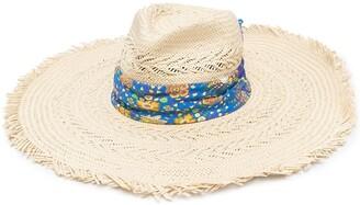 Etro Scarf-Detail Sun Hat